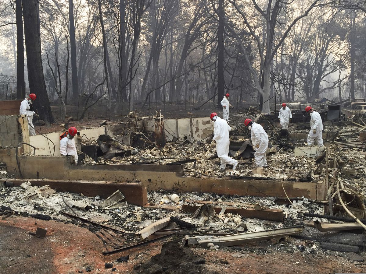 71 dead, more than 1,000 now missing in California fires