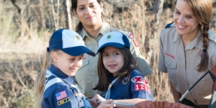 525 Virginia girls join Boy Scouts