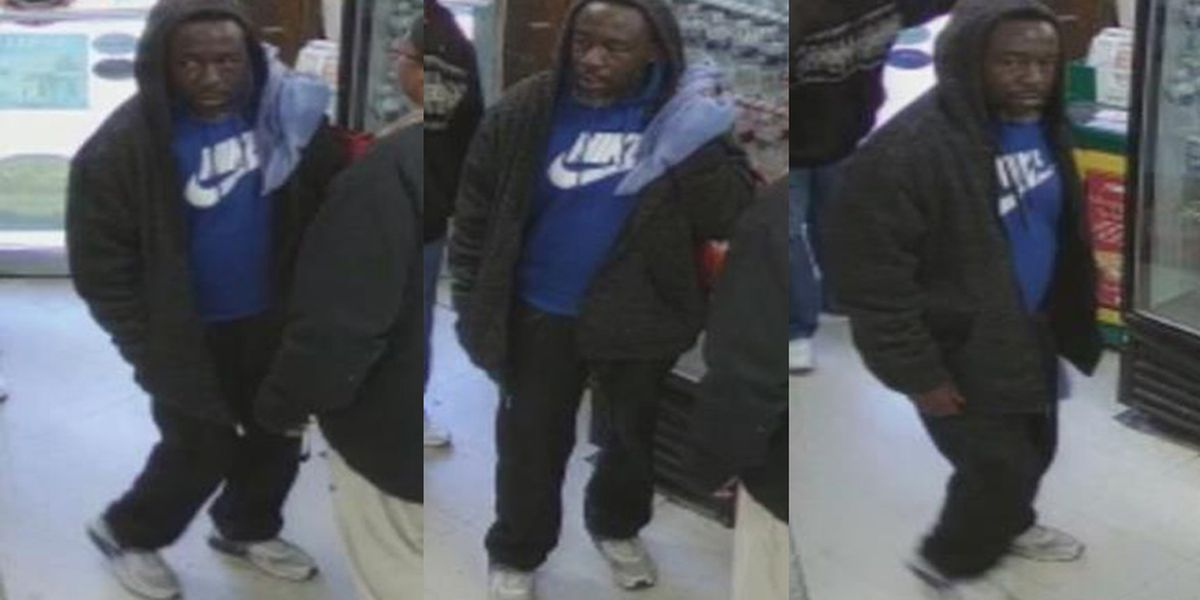 VIDEO: Police search for person accused of stealing money from elderly man
