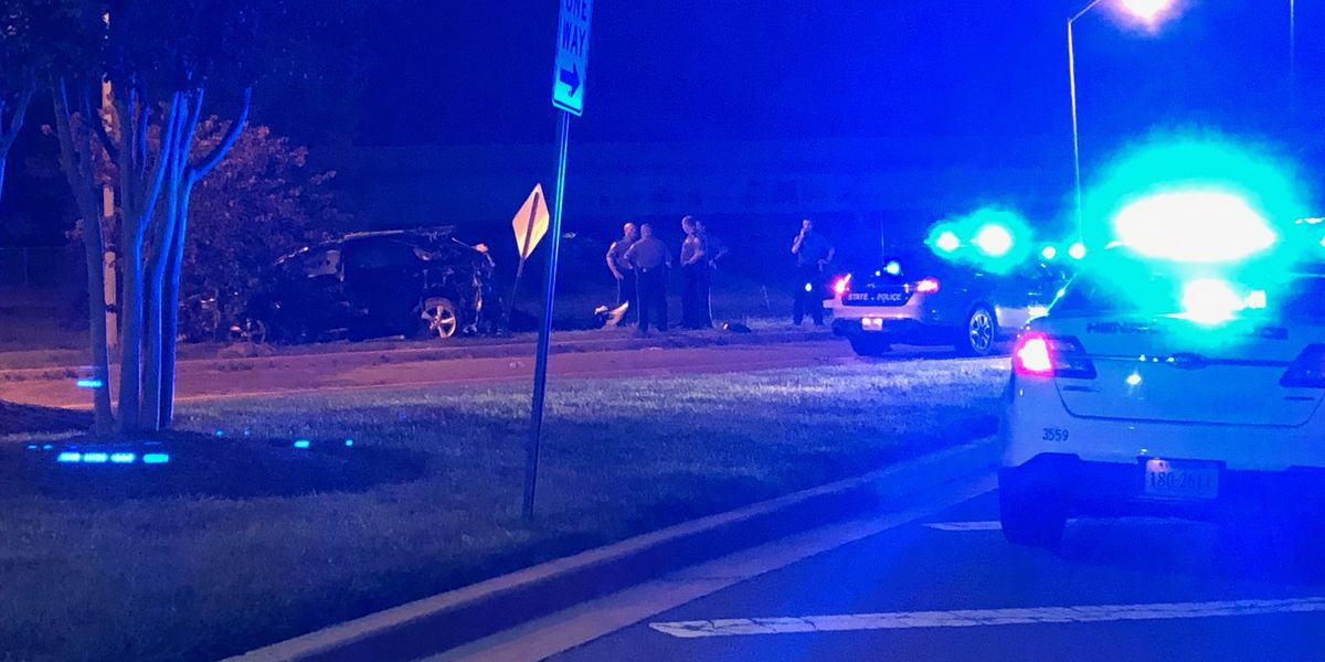 Three arrested after police chase ends in crash