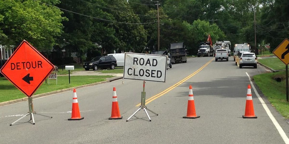 Part of Three Chopt Road closed until Monday due to water main break