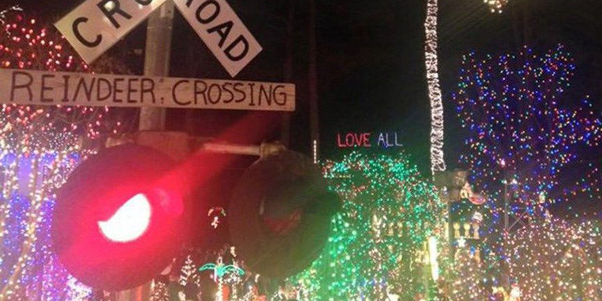 richmond neighborhood has the most outrageous christmas lights display