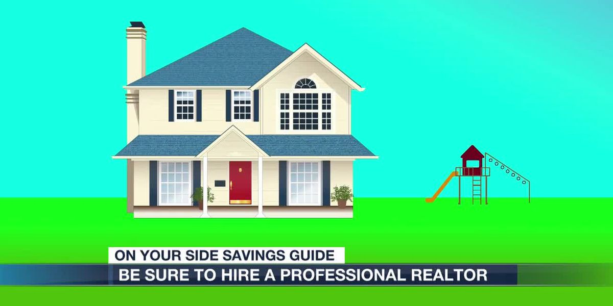 Make sure you hire a professional realtor when selling your home