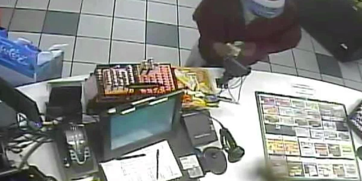 Man caught on camera robbing Richmond convenience store