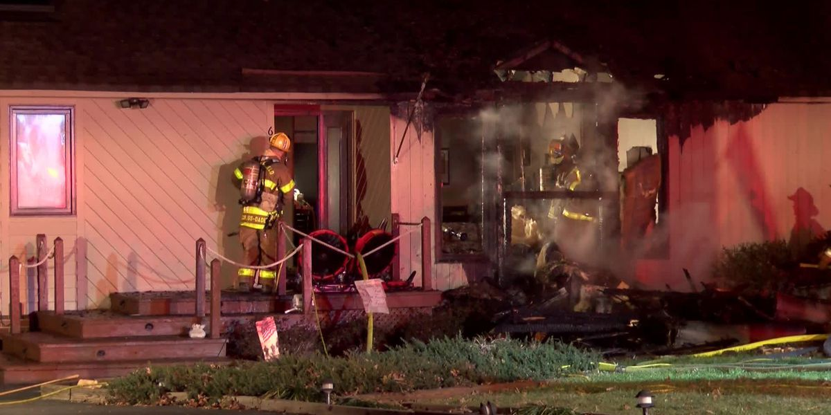 Chesterfield family of five escaped fire unharmed