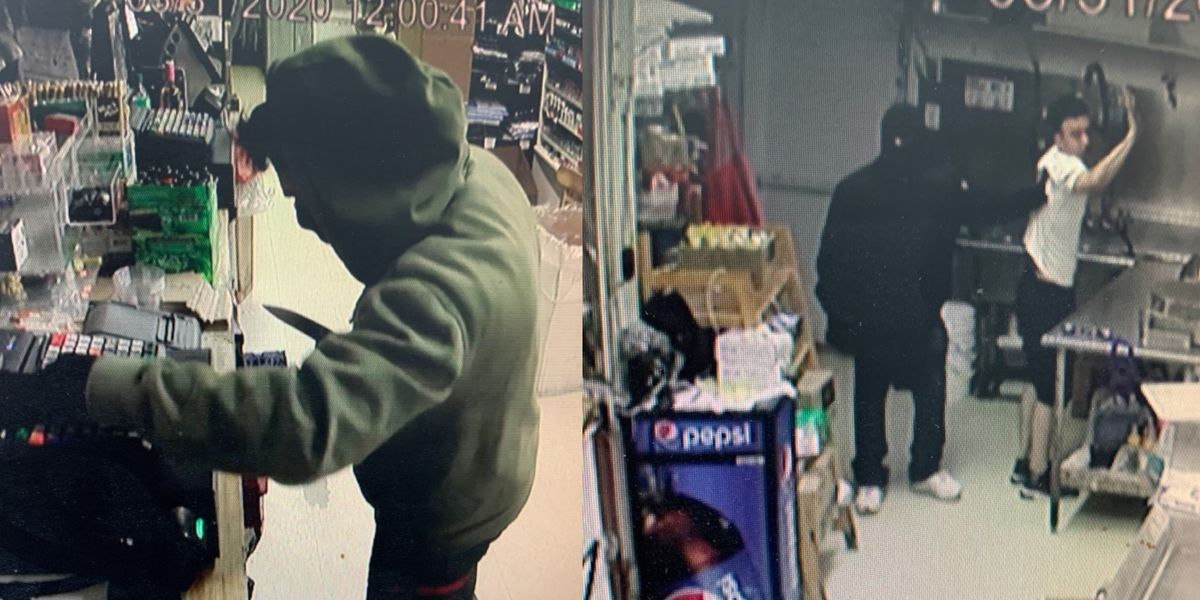 Knife-wielding men rob Richmond Food Mart