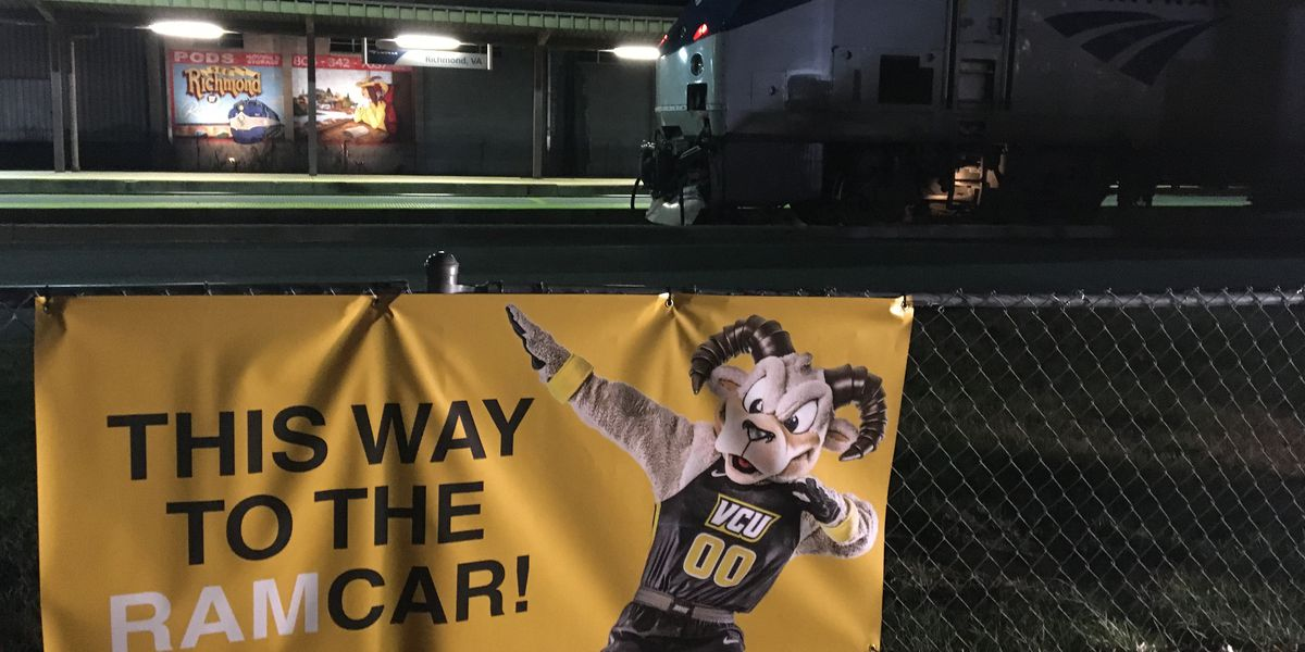 All aboard! VCU fans set to travel to A-10 Tournament on Amtrak's RamCar