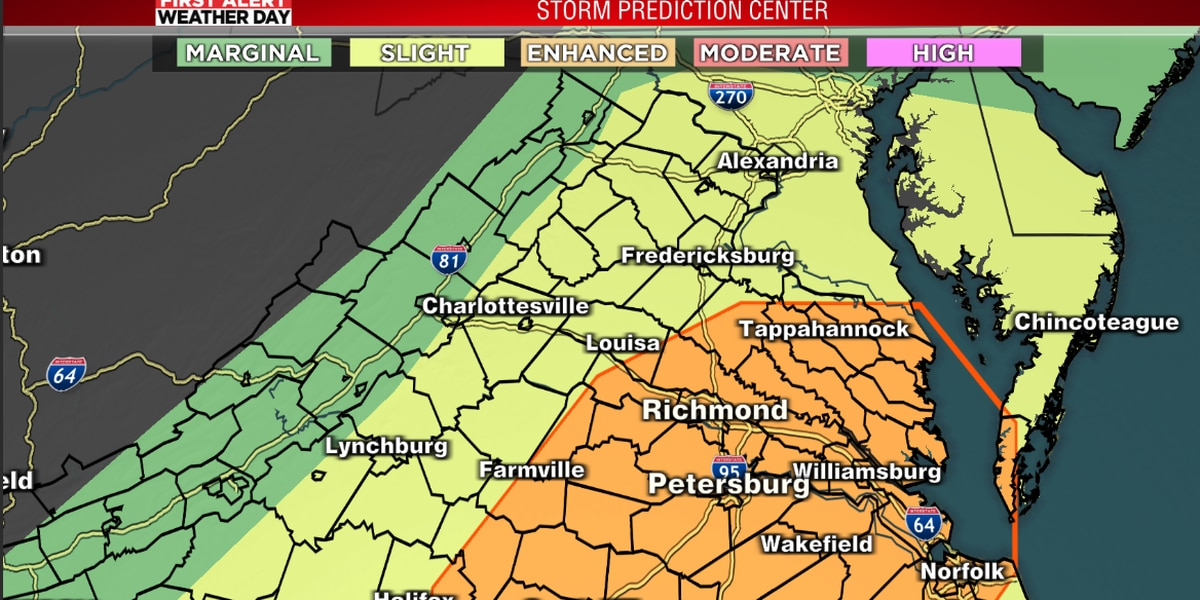 All clear: Severe storm risk fizzles on Sunday evening