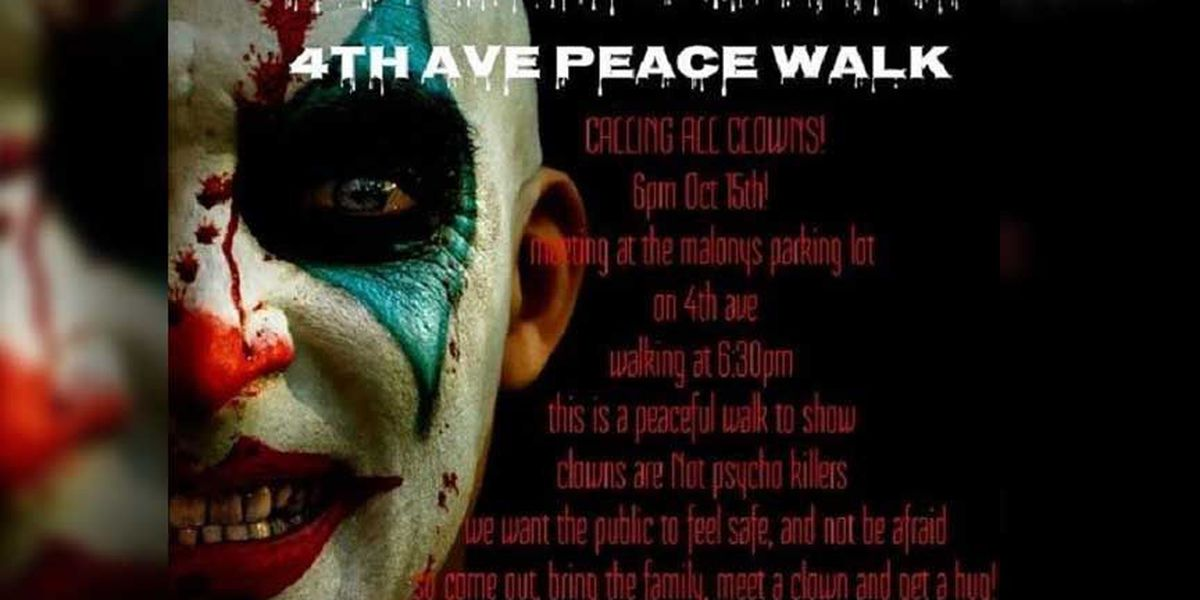 'Clown Lives Matter' event created to show clowns aren't 'psycho killers'