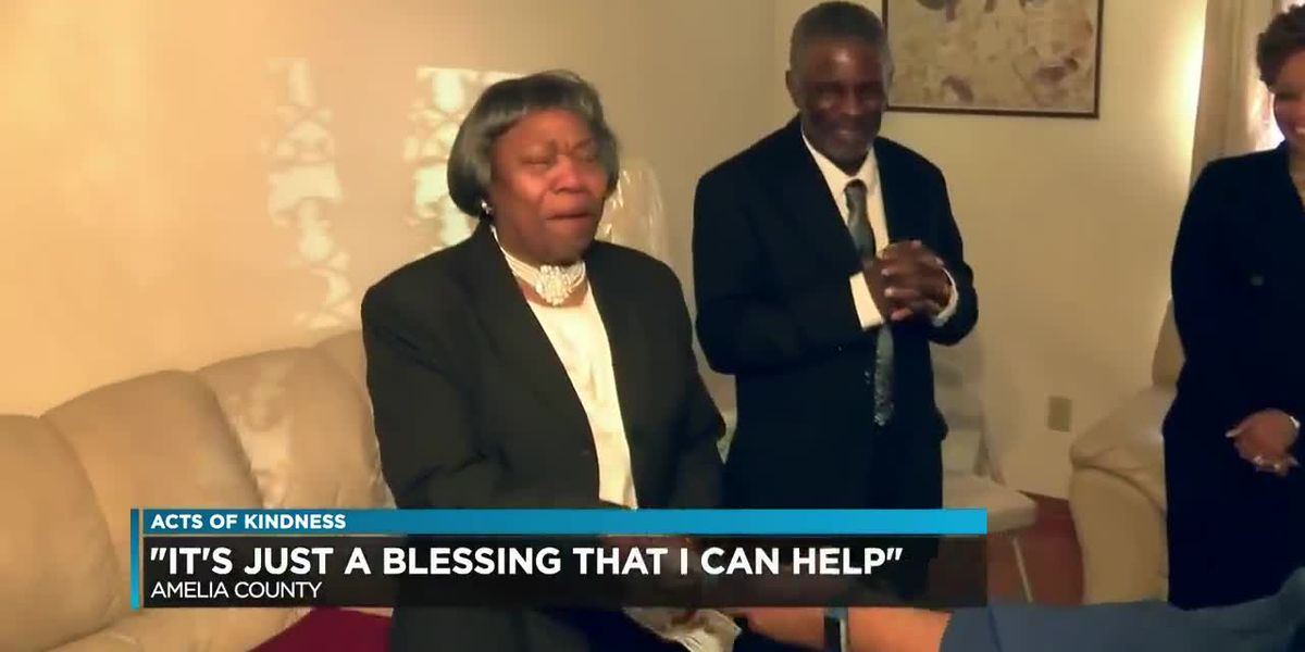 """It's just a blessing that I can help"" Amelia woman receives an Act of Kindness"