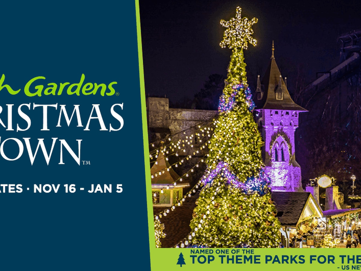 Busch Gardens Christmas Town giveaway: This contest has ended