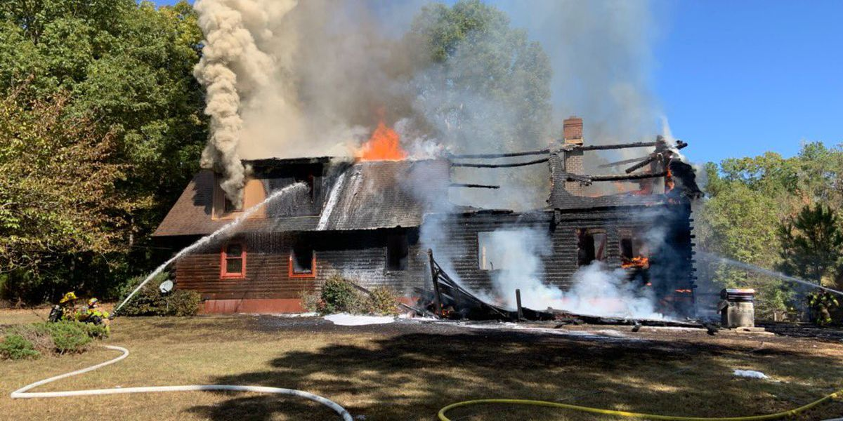 Ashes from wood stove blamed for Chesterfield house fire