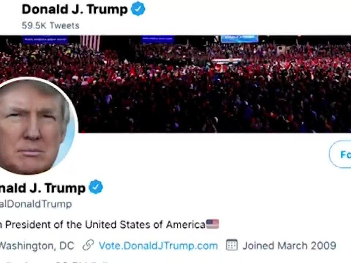 Twitter won't preserve Trump's tweets online