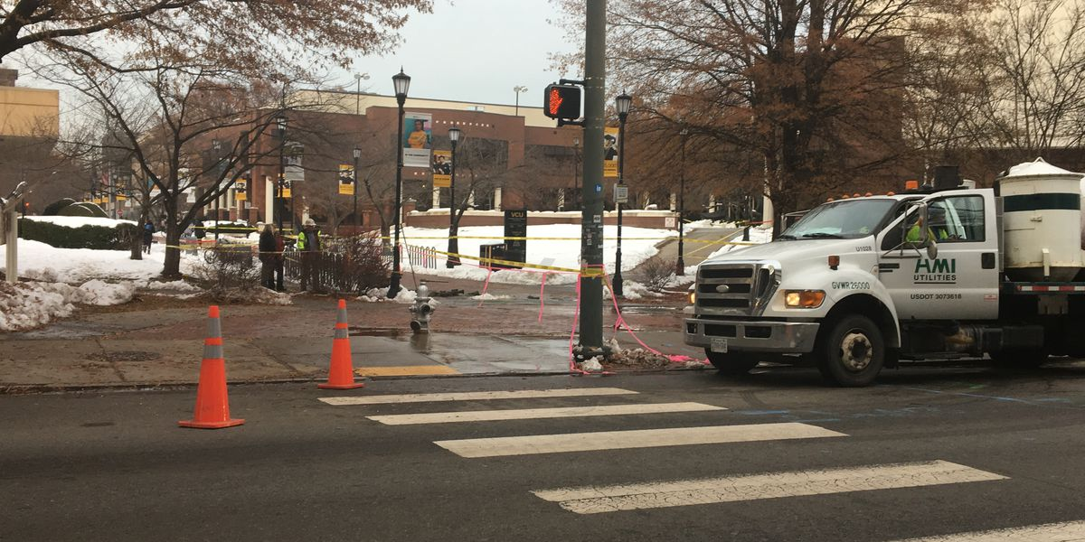 Water main break closes buildings at VCU