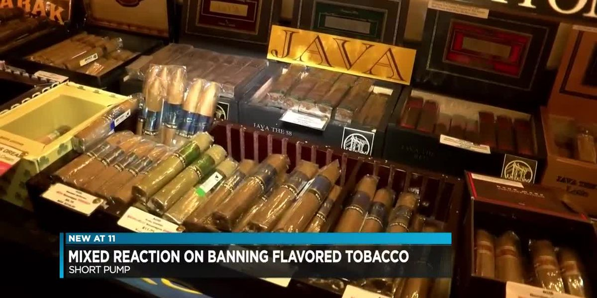 Mixed reaction on banning flavored tobacco