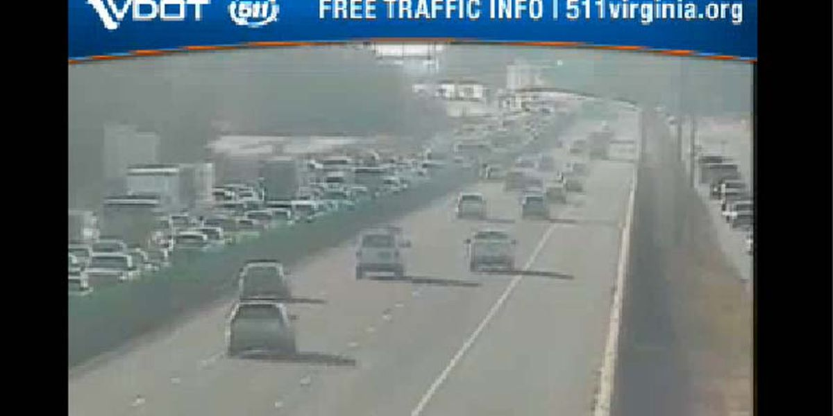 All lanes back open after I-95 crash in Richmond