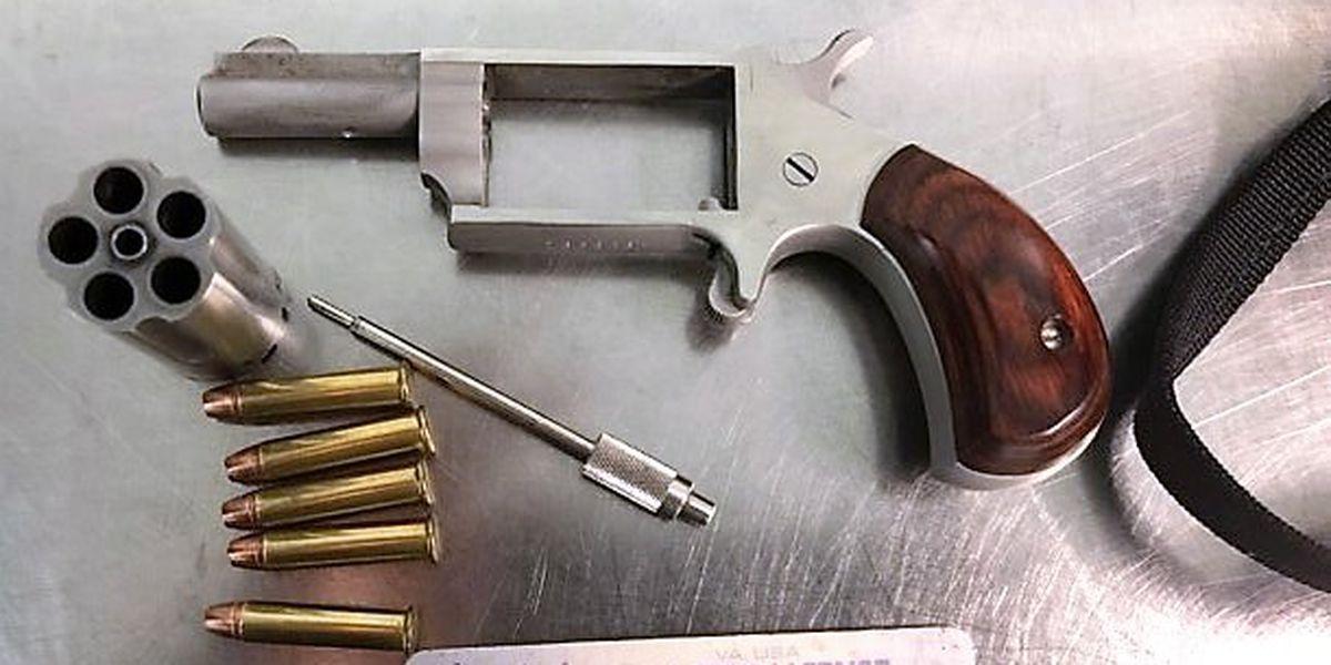 Hanover man with loaded handgun stopped at RIC