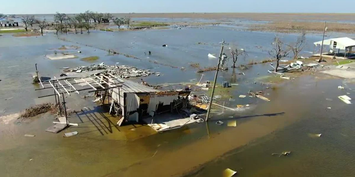 Louisiana governor announces 1 death from storm