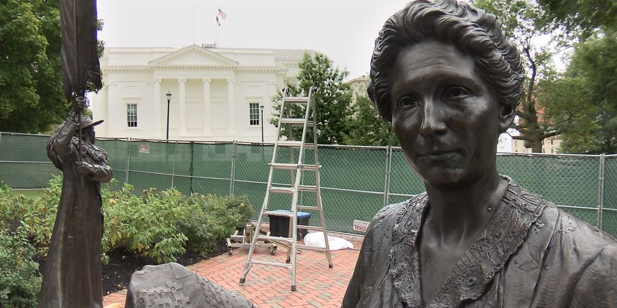 On This Day: The Women's Monument is unveiled on Virginia's State Capitol grounds