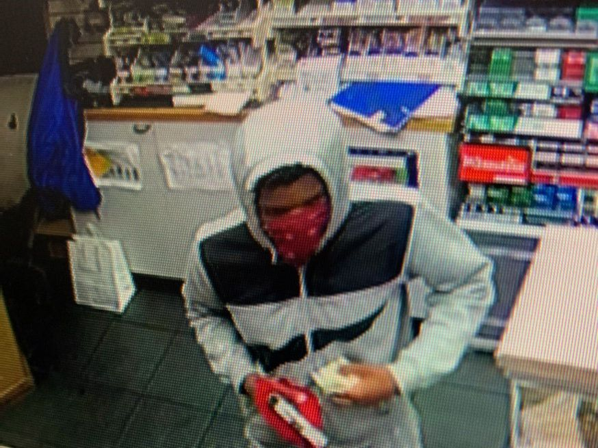 Man robs Chesterfield gas station at gunpoint