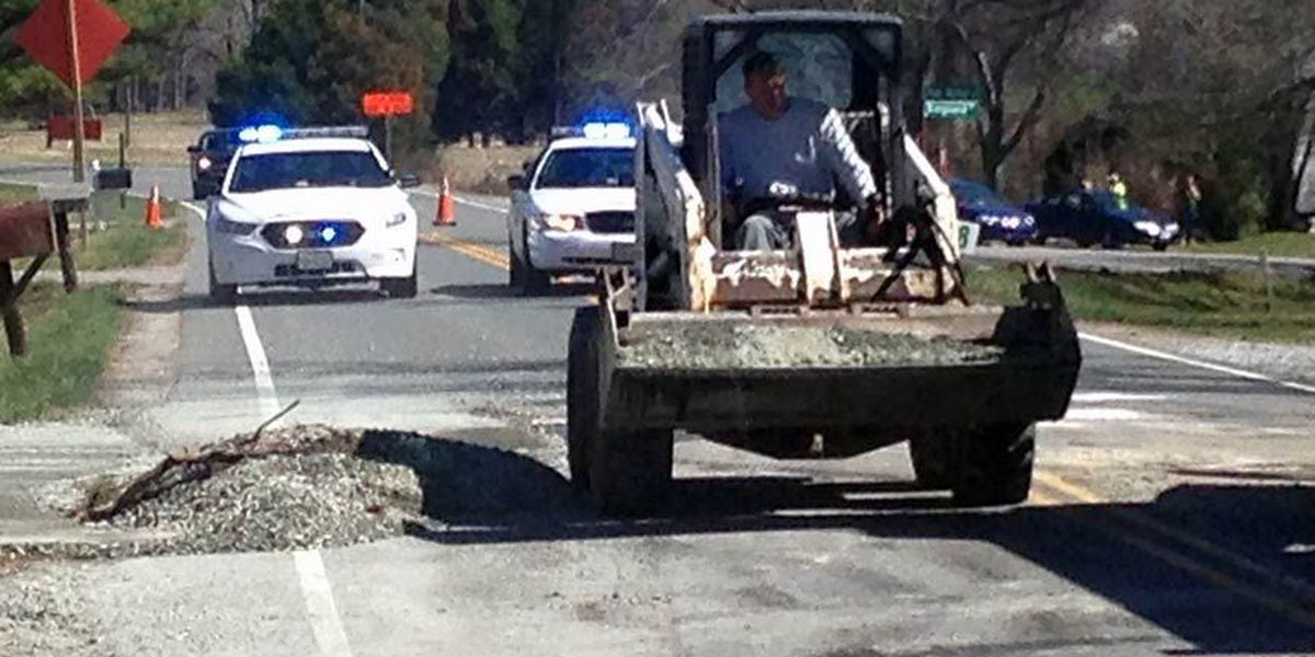 New Market Rd. reopened; dump truck cleared