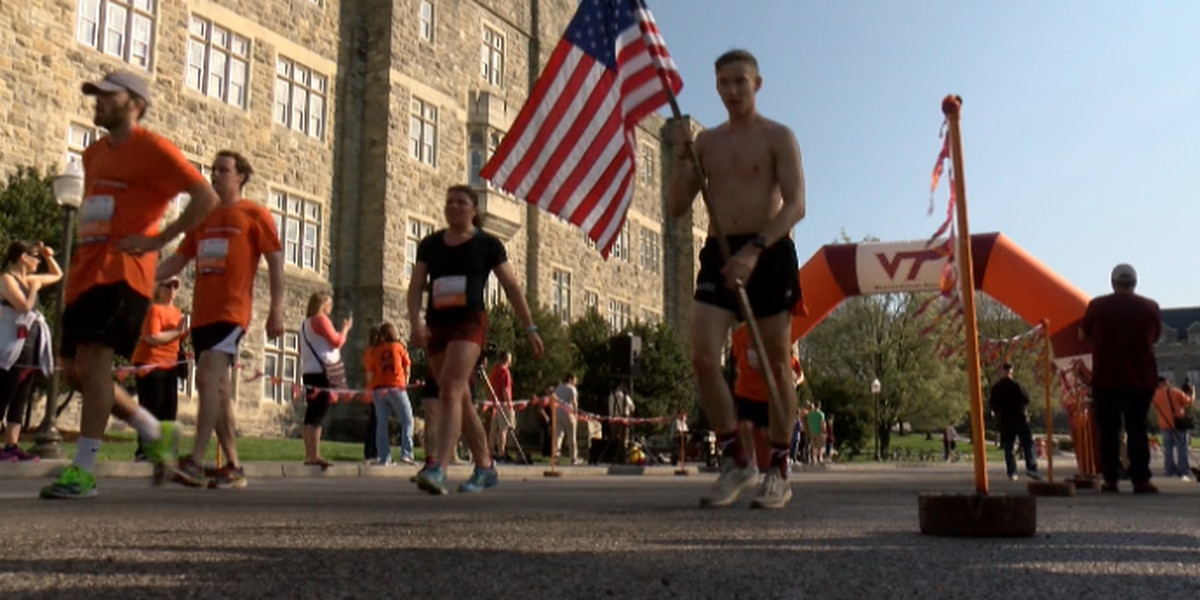 14,500 run to remember victims of 2007 Virginia Tech shooting