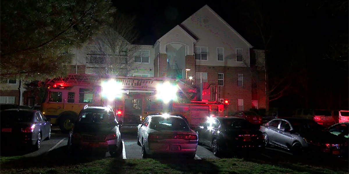 Fire breaks out at Chesterfield apartment