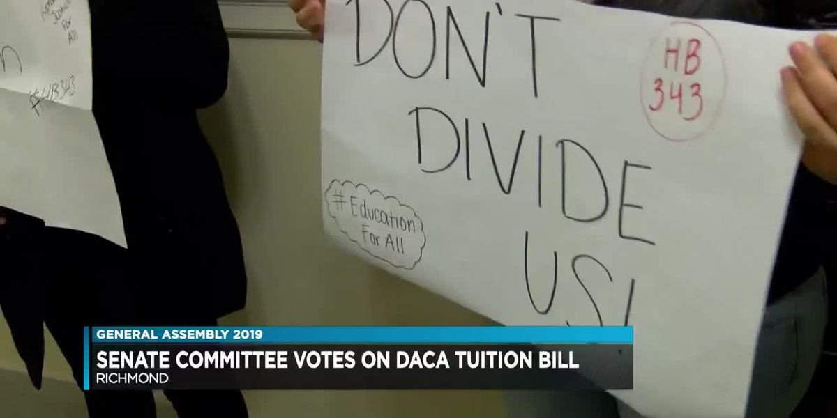 Senate Committee votes on DACA tuition bill