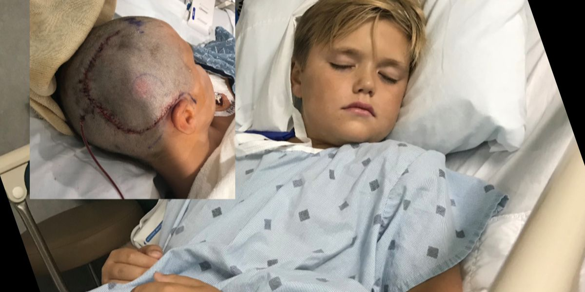 'I didn't think I was going to be here today': Child recovers after being hit with golf ball