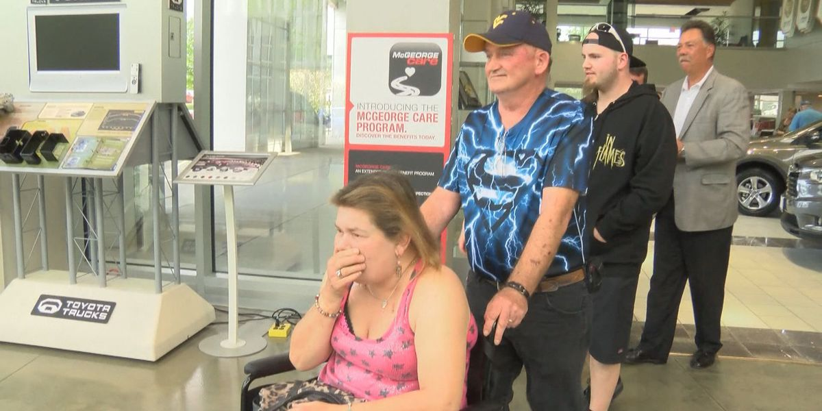 ON YOUR SIDE: Couple gets van to help get to doctors' appointments