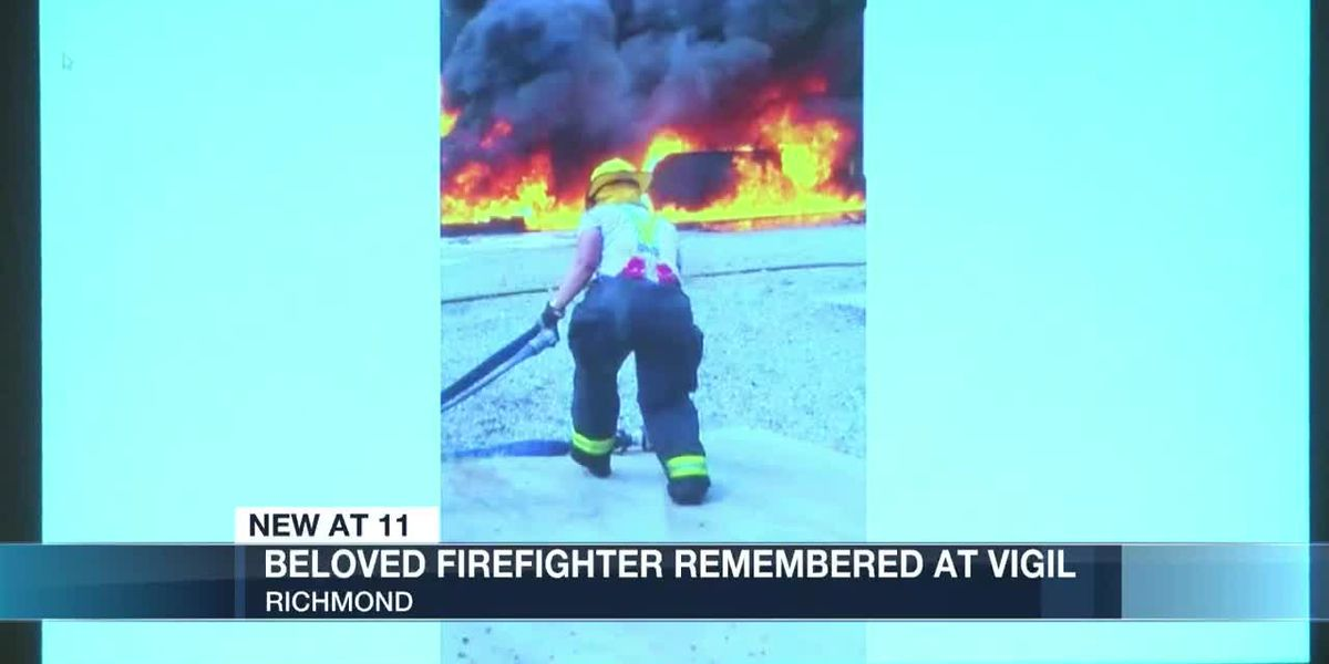 Richmond Fire community remembers beloved fire lieutenant killed in Thanksgiving Day shooting