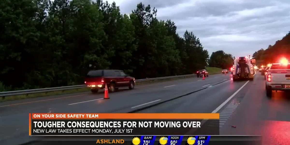 Work zone, move over laws set to begin July 1
