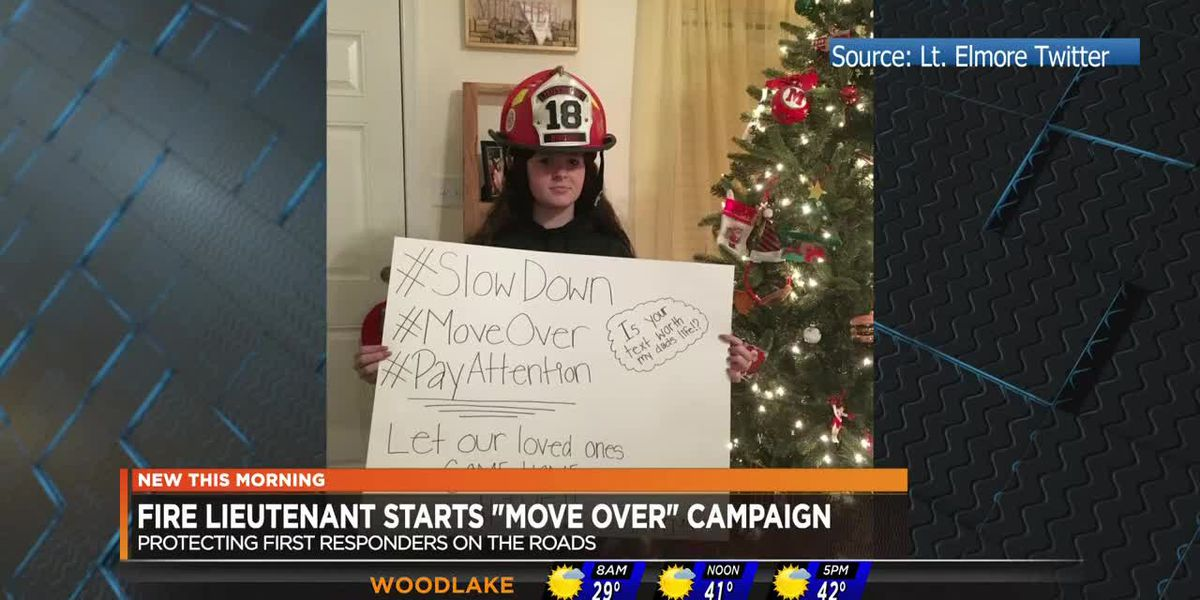 Chesterfield fire official spreads word of 'move over' campaign
