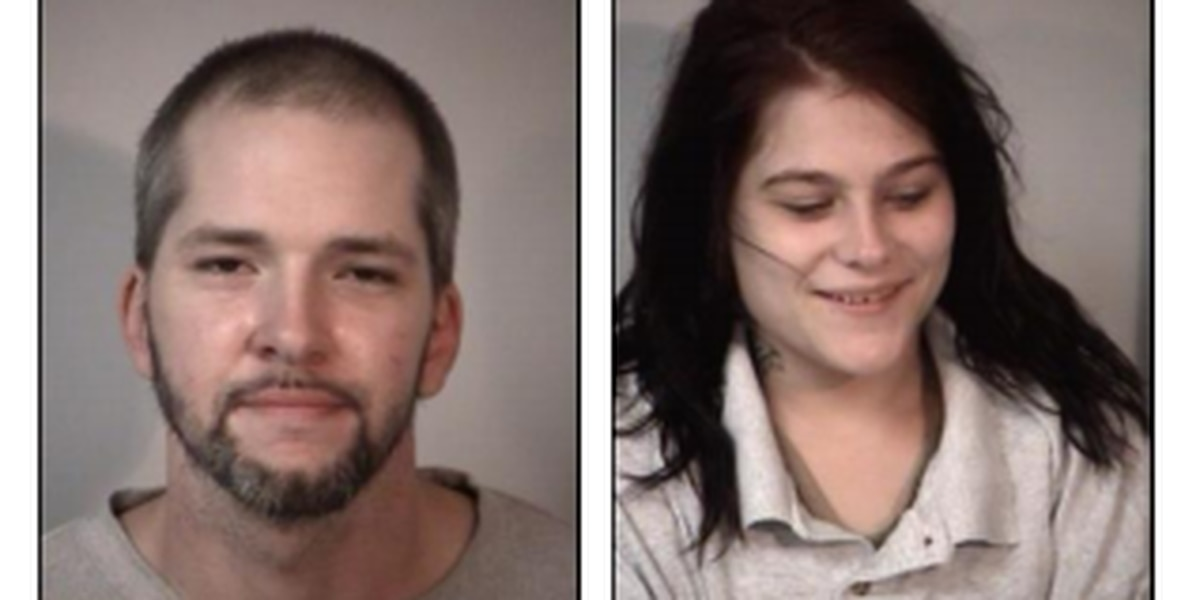 Man, woman arrested after attempting to strike officer with vehicle during chase