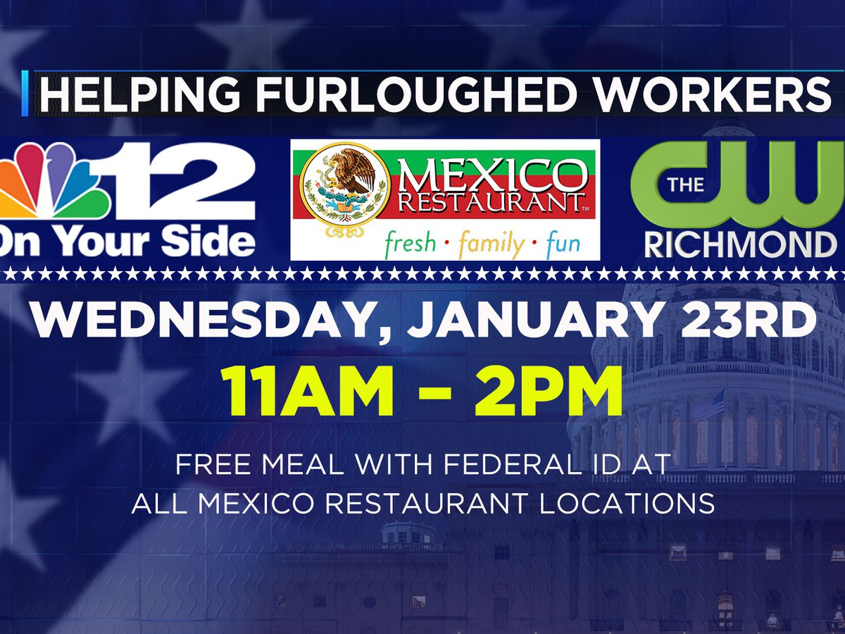 NBC12 teams up with Mexico Restaurant to feed furloughed workers