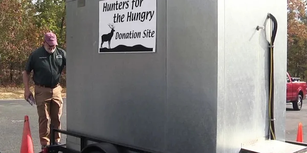 Louisa County participates in 'Hunters for the Hungry' program