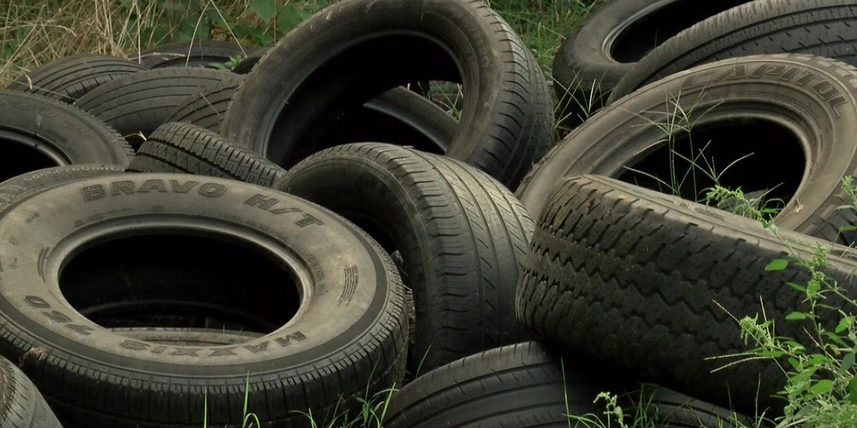 Illegal tire dumping gets Richmond's attention