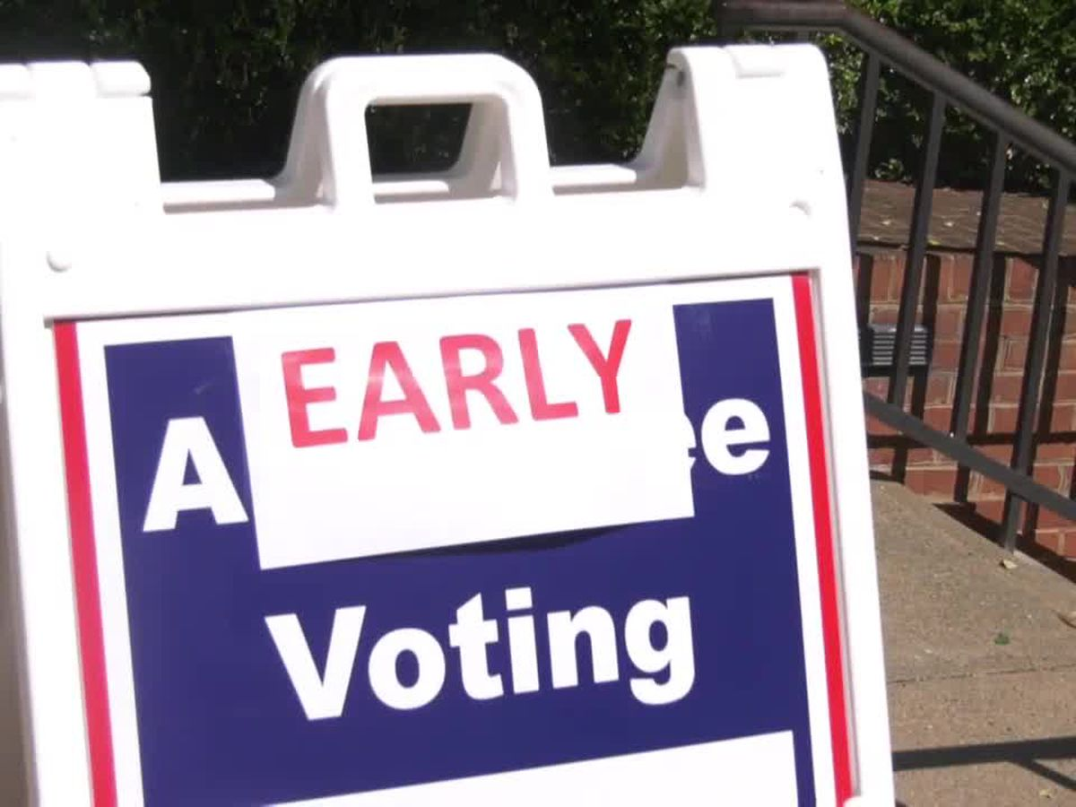 Virginia early voting nears 200,000 in first week