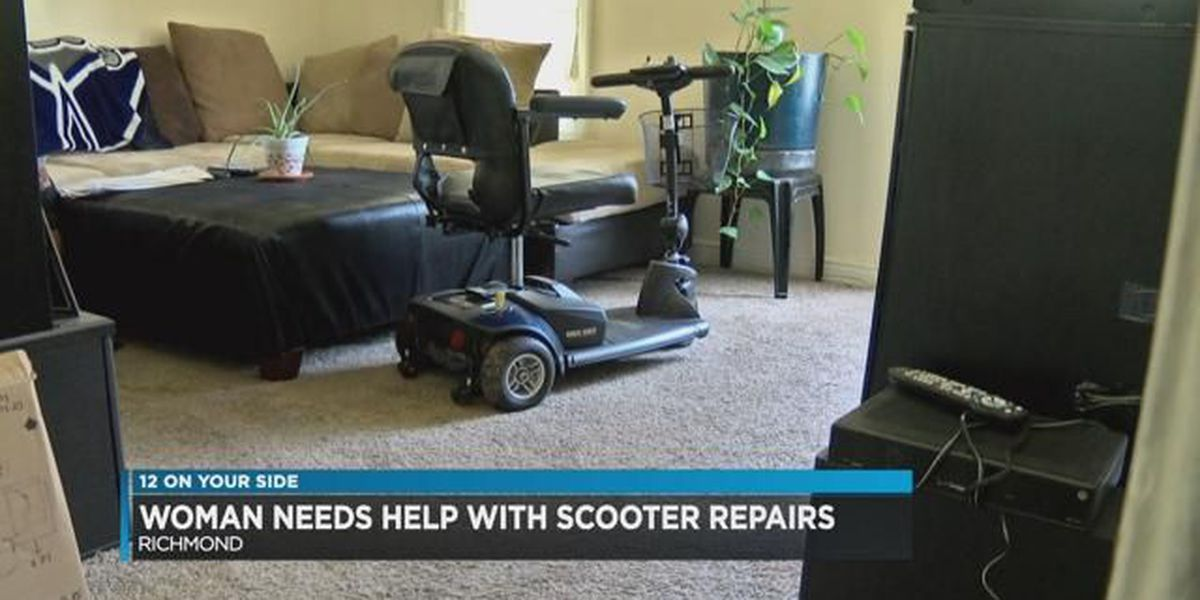 Woman needs help with scooter repairs