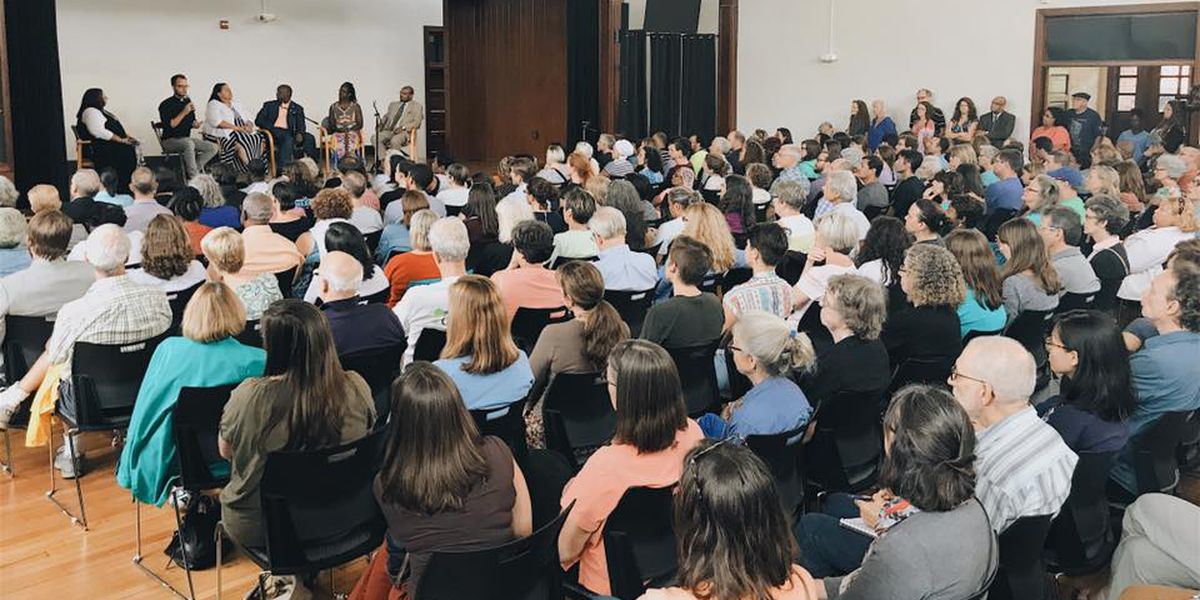 Charlottesville community holds meeting to discuss Saturday's violence