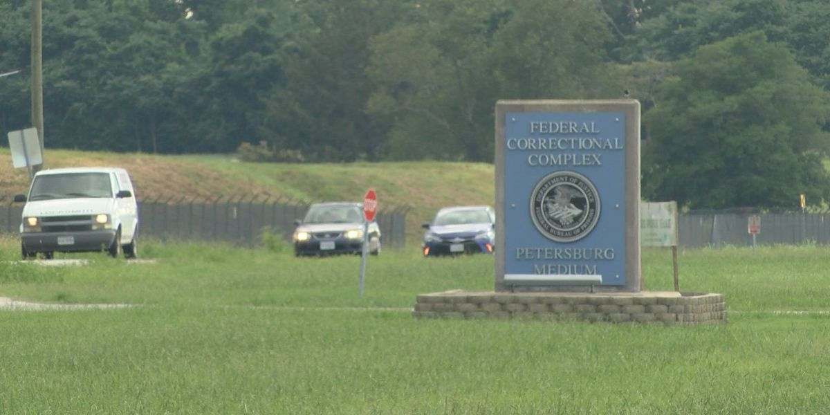 Families concerned about coronavirus outbreak at federal prison near Petersburg