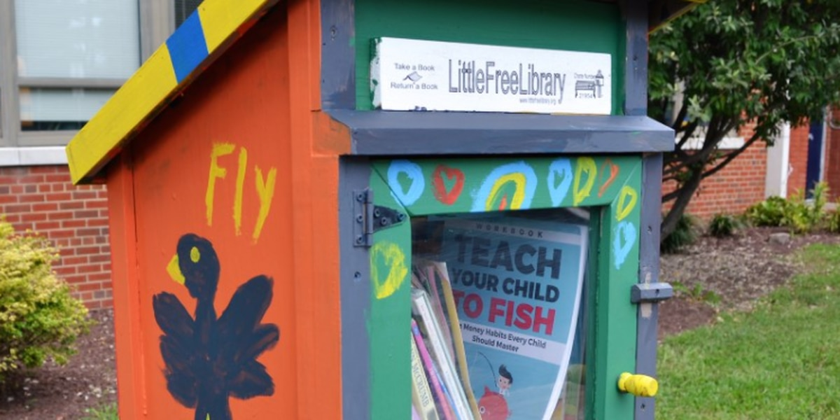 United Way installs free libraries across Central Virginia