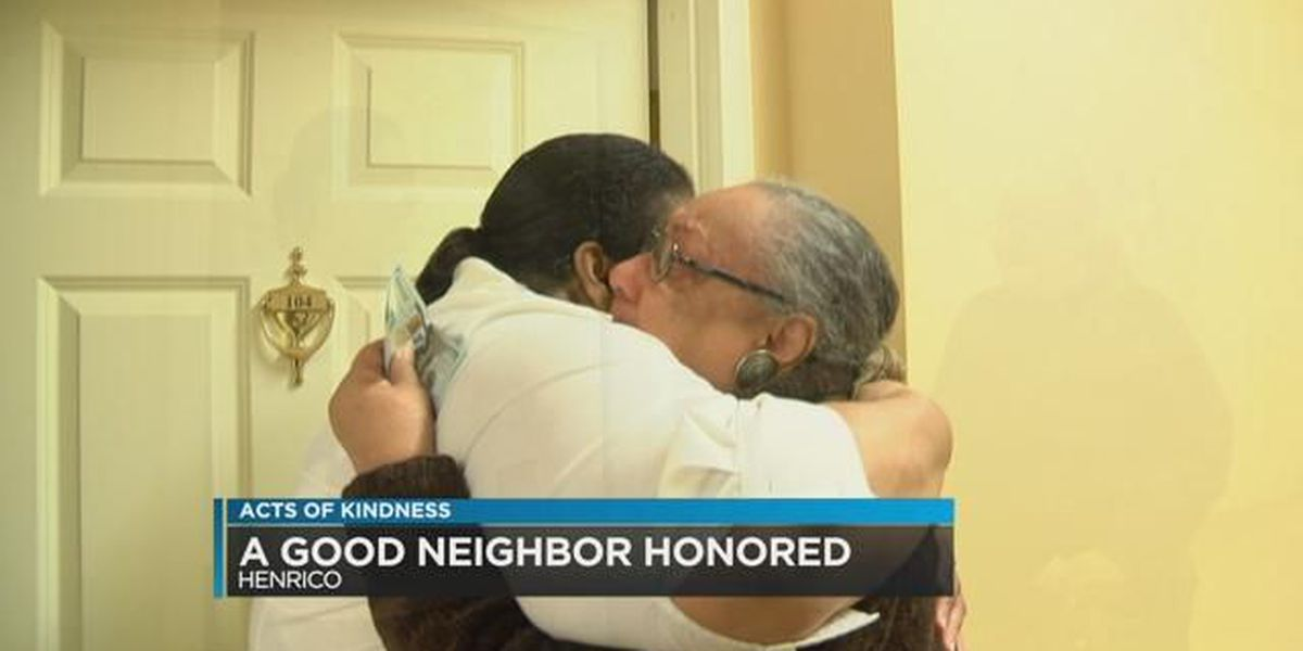 Acts Of Kindness: A good neighbor honored