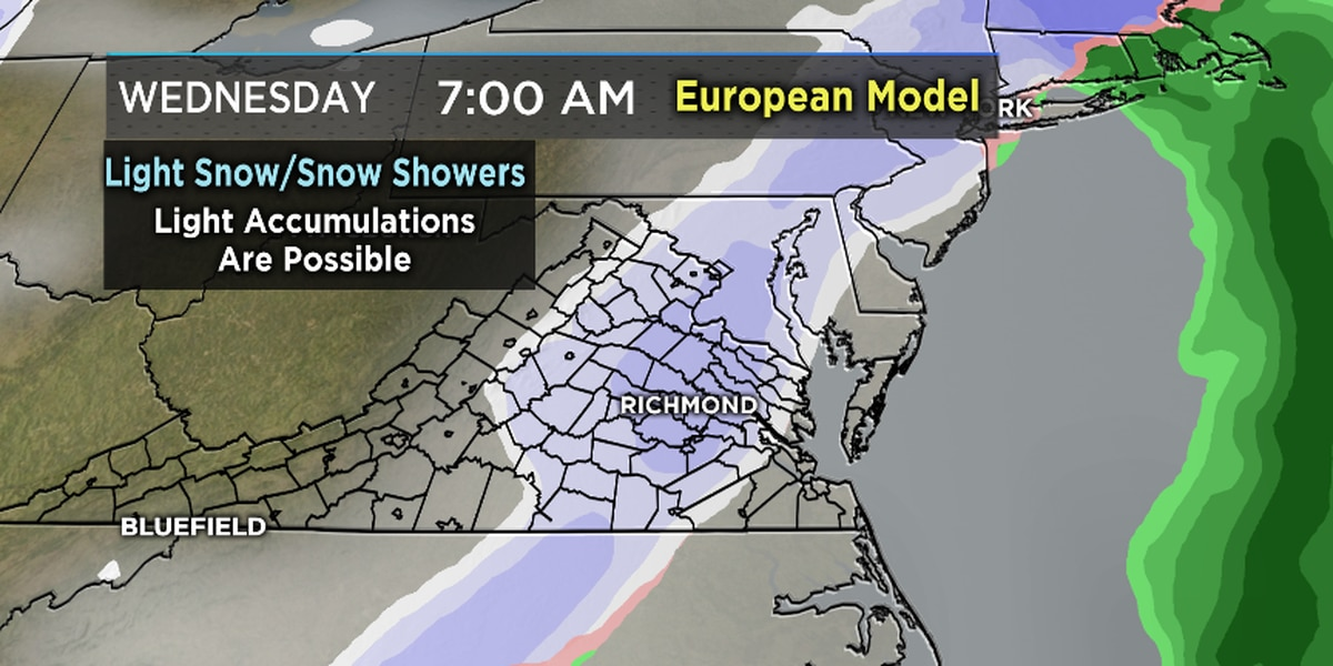 FIRST ALERT WEATHER DAY: Snow day today