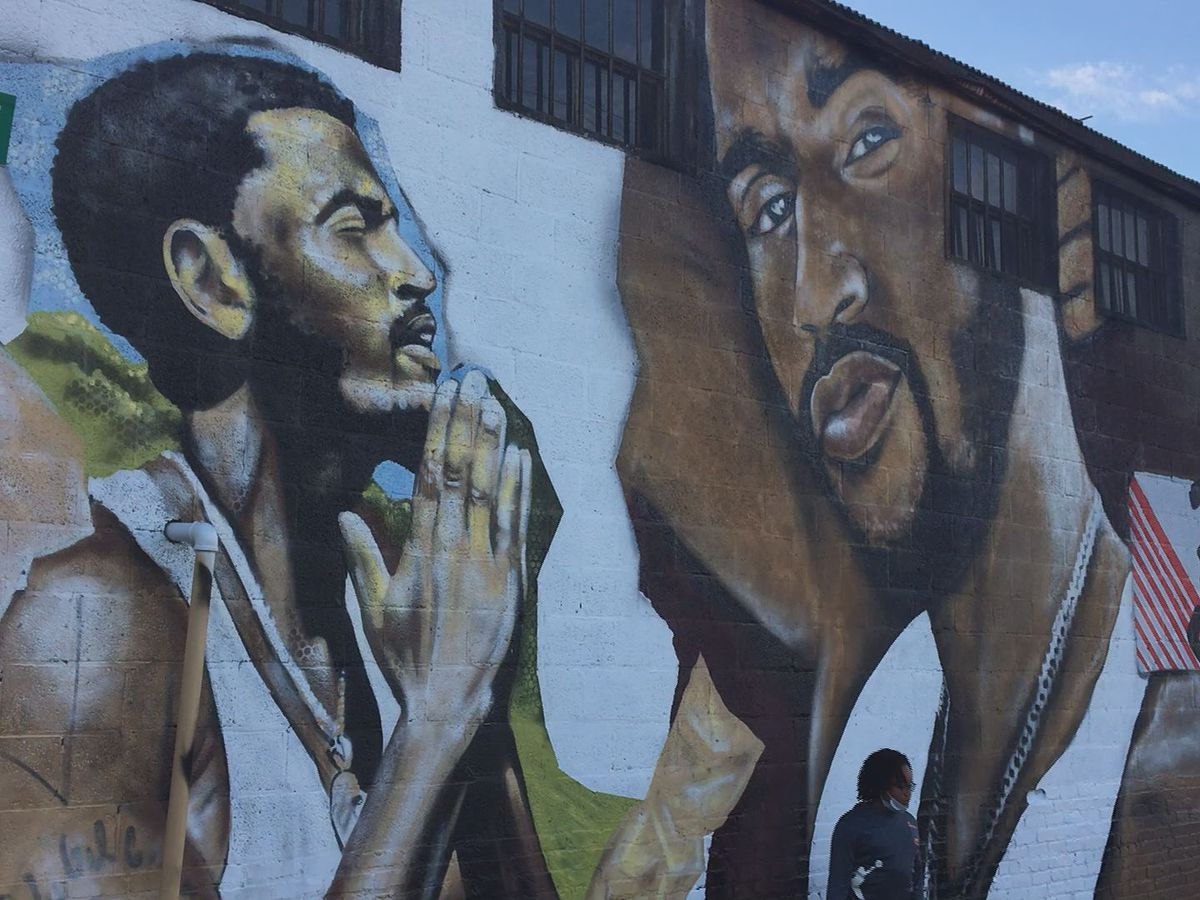 Trey Songz comes 'back home' for mural unveiling, block party