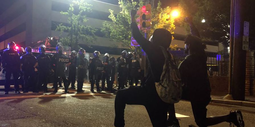 Protesters call for peaceful demonstrations, stoppage of violence on all sides