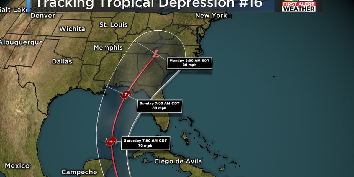 New tropical depression expected to strengthen, impact U.S.