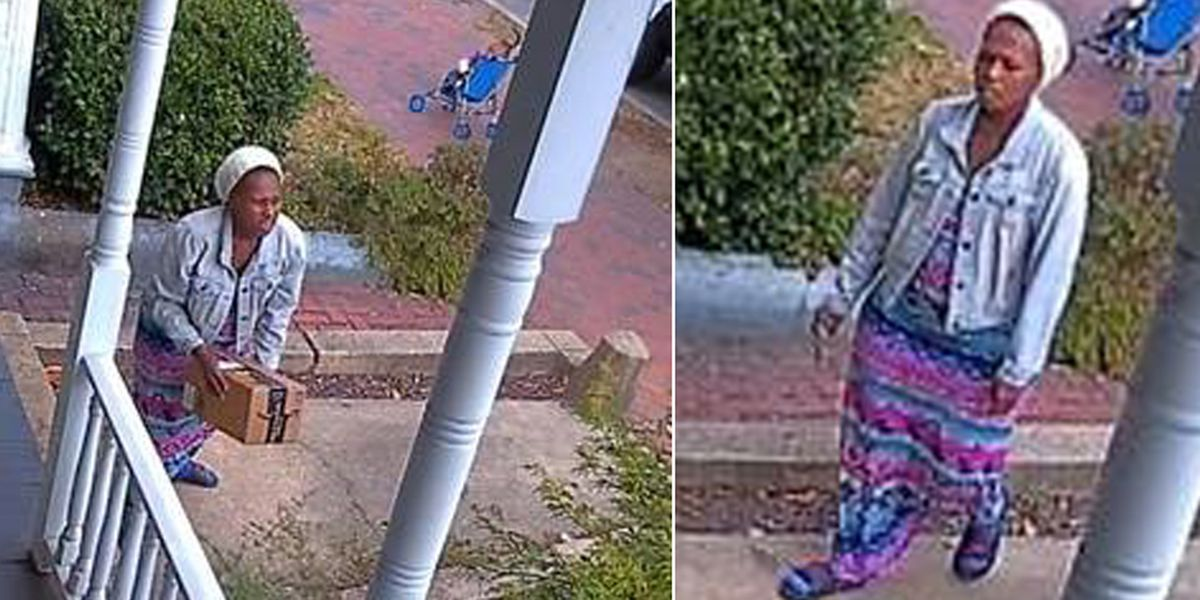 Caught on camera: Woman steals package from Richmond porch