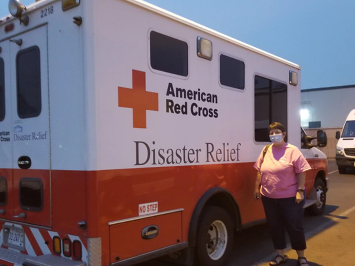 Red Cross volunteer from Virginia assists in western wildfires