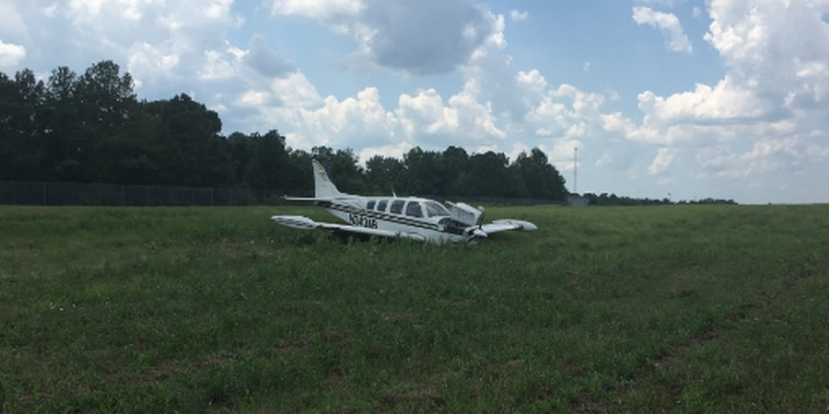 Plane crashes at Chesterfield airport